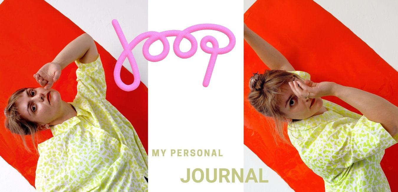 Choreografe Joop Oonk: My personal Journal